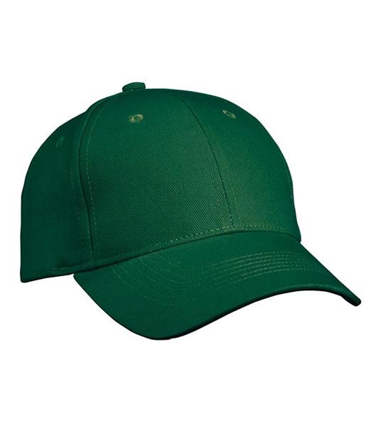 Czapka MB091 Panel Cap heavy Cotton - 091_darkgreen_MB - Kolor: Dark green