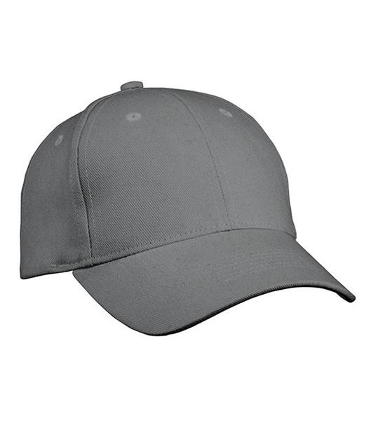 Czapka MB091 Panel Cap heavy Cotton - 091_darkgrey_MB - Kolor: Dark grey