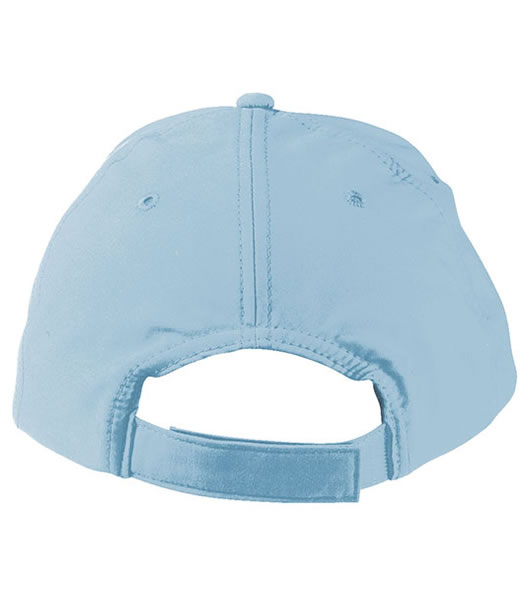 Czapka MB091 Panel Cap heavy Cotton - 091_detale_MB - Kolor: Light blue
