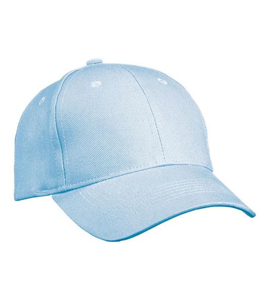 Czapka MB091 Panel Cap heavy Cotton - 091_light_blue_MB - Kolor: Light blue