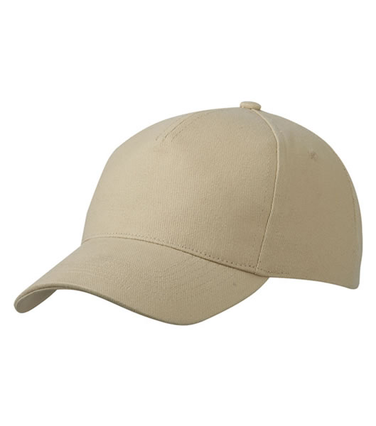 Czapka MB092 5 Panel Cap heavy Cotton  - 092_beige_MB - Kolor: Beige