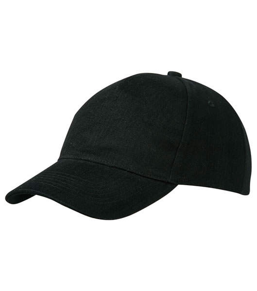 Czapka MB092 5 Panel Cap heavy Cotton  - 092_black_MB - Kolor: Black