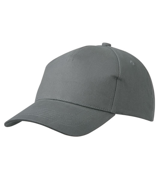 Czapka MB092 5 Panel Cap heavy Cotton  - 092_darkgrey_MB - Kolor: Dark grey