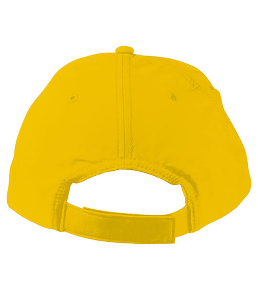 Czapka MB092 5 Panel Cap heavy Cotton  - 092_detale_MB - Kolor: Gold yellow