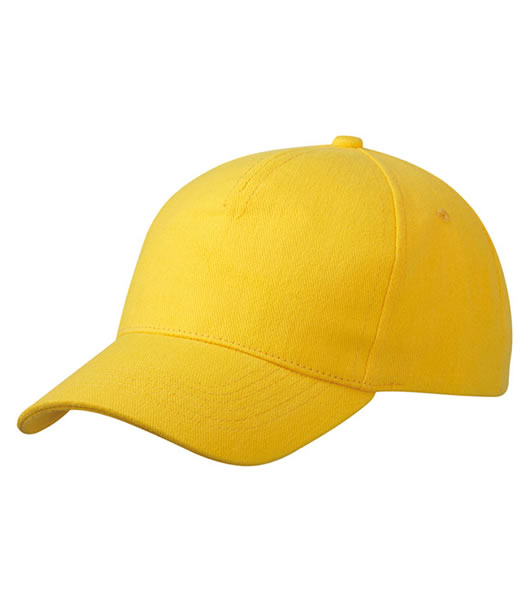 Czapka MB092 5 Panel Cap heavy Cotton  - 092_gold_yellow_MB - Kolor: Gold yellow