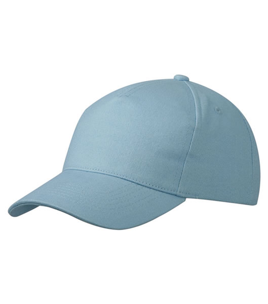 Czapka MB092 5 Panel Cap heavy Cotton  - 092_light_blue_MB - Kolor: Light blue