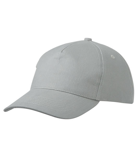 Czapka MB092 5 Panel Cap heavy Cotton  - 092_light_grey_MB - Kolor: Light grey