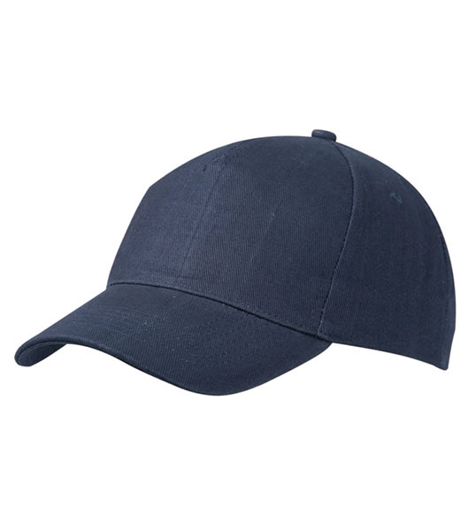 Czapka MB092 5 Panel Cap heavy Cotton  - 092_navy_MB - Kolor: Navy