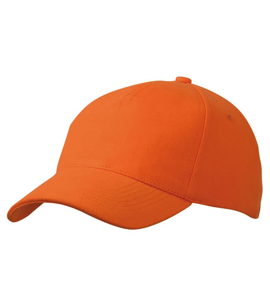 Czapka MB092 5 Panel Cap heavy Cotton  - 092_orange_MB - Kolor: Orange