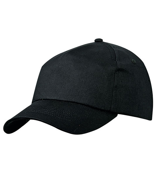 Czapka MB002 5 Panel Promo Cap laminated - 002_black_MB - Kolor: Black
