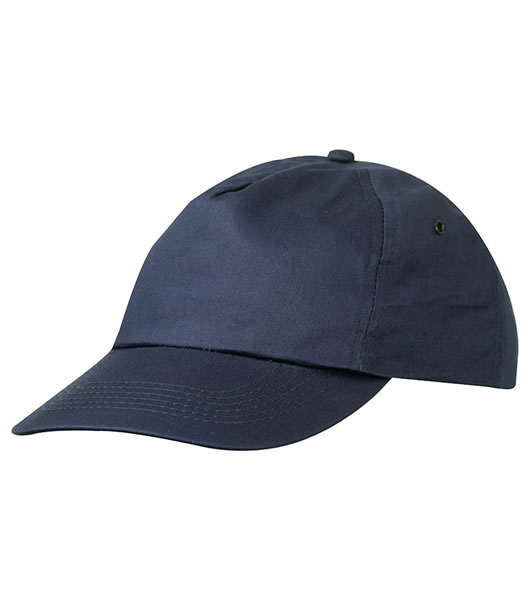 Czapka MB002 5 Panel Promo Cap laminated - 002_navy_MB - Kolor: Navy