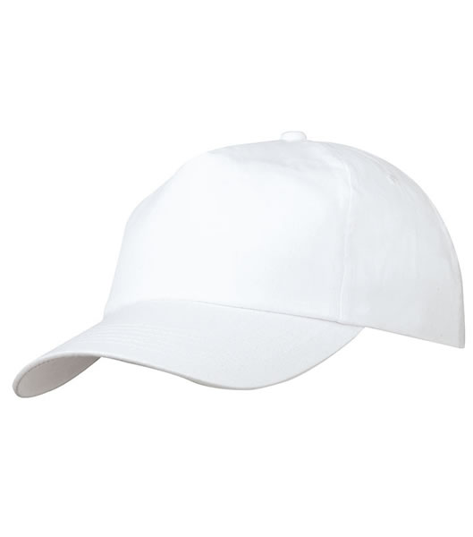 Czapka MB002 5 Panel Promo Cap laminated - 002_white_MB - Kolor: White