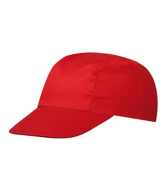 Czapka MB003 3 Panel Promo Cap - 003_signal_red_MB - Kolor: Signal red