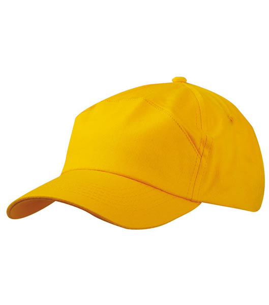 Czapka MB005 7 Panel Promo Cap - 005_gold_yellow_MB - Kolor: Gold yellow