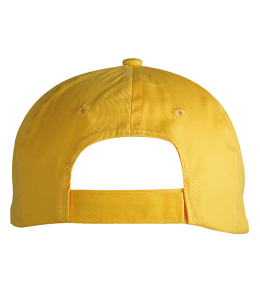 Czapka MB005 7 Panel Promo Cap - 005_detale_MB - Kolor: Gold yellow