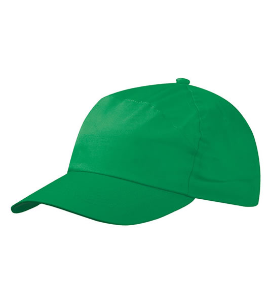 Czapka MB005 7 Panel Promo Cap - 005_green_MB - Kolor: Green