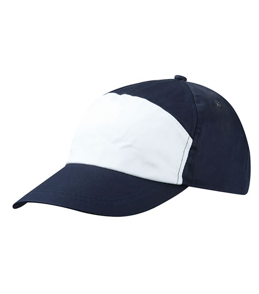 Czapka MB005 7 Panel Promo Cap - 005_navy_white_MB - Kolor: Navy / White