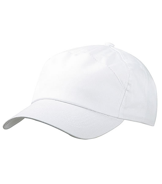 Czapka MB005 7 Panel Promo Cap - 005_white_MB - Kolor: White