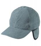 Czapka MB7510 6 Panel Fleece Cap with Earflaps - 7510_grey_MB Grey