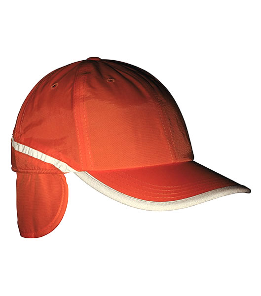Czapka MB7511 Arctic Cap with Earflaps - 7511_orange_MB - Kolor: Orange