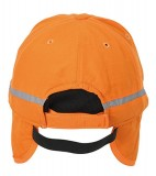 Czapka MB7511 Arctic Cap with Earflaps - 7511_detale_MB Pop orange
