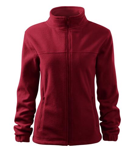 Bluzy polarowe Ladies A 504 JACKET 280 - 504_23 - Kolor: Marlboro Czerwony