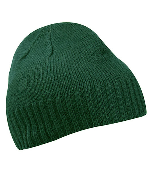 Czapka MB503 Rib-Beanie - 503_dark_green_MB - Kolor: Dark green