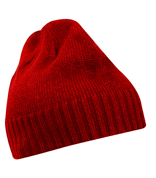 Czapka MB503 Rib-Beanie - 503_red_MB - Kolor: Red