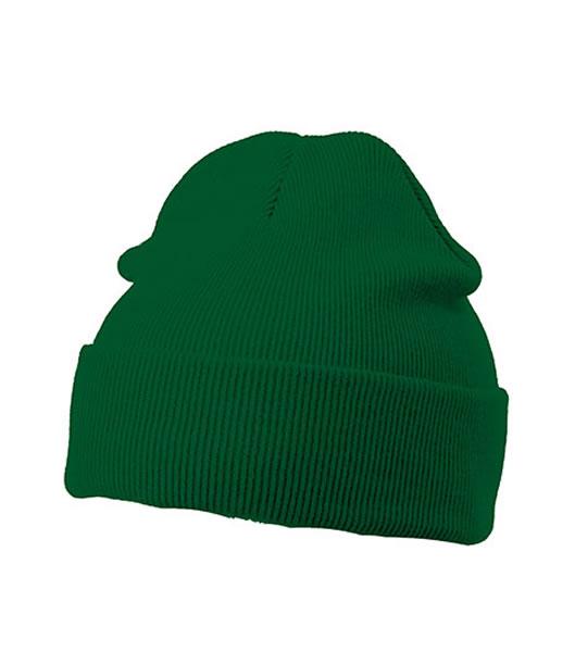 Czapka MB7500 Knitted Cap - 7500_dark_green_MB - Kolor: Dark green