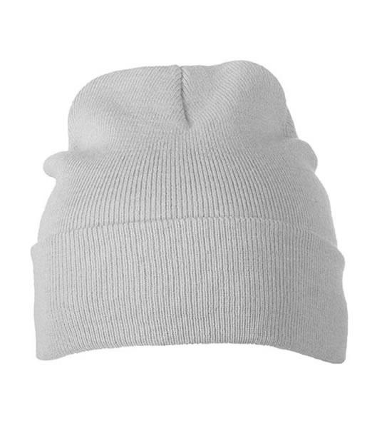 Czapka MB7500 Knitted Cap - 7500_light_greymelange_MB - Kolor: Light grey melange