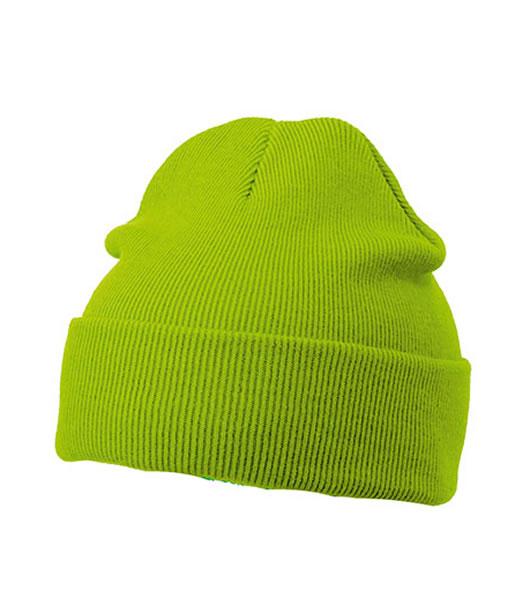 Czapka MB7500 Knitted Cap - 7500_limegreen_MB - Kolor: Lime green