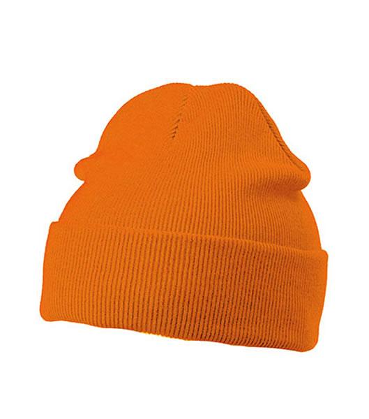 Czapka MB7500 Knitted Cap - 7500_orange_MB - Kolor: Orange