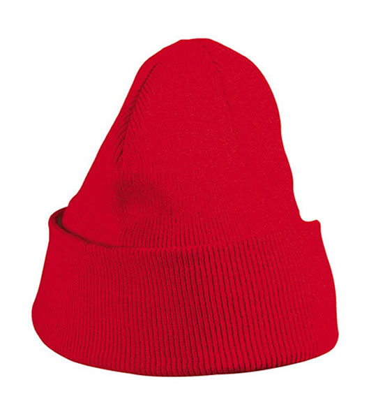 Czapka MB7500 Knitted Cap - 7500_red_MB - Kolor: Red