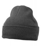 Czapka MB7500 Knitted Cap - 7500_dark_greymelange_MB Dark grey melange