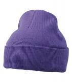Czapka MB7500 Knitted Cap - 7500_dark_purple_MB Dark purple