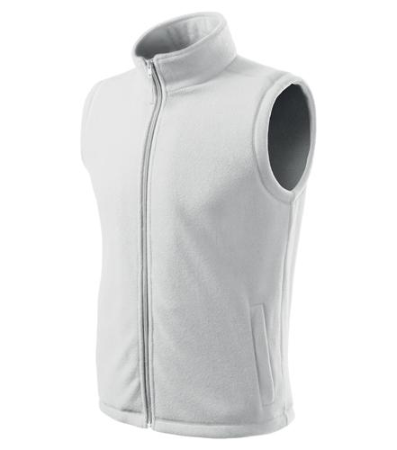 Kamizelka polarowa  A 518 Unisex Next - 518_00_C - Kolor: Biały
