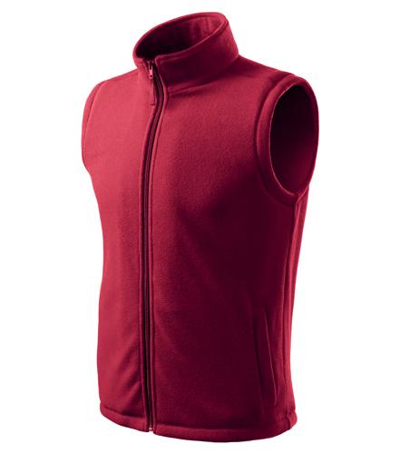 Kamizelka polarowa  A 518 Unisex Next - 518_23_C - Kolor: Marlboro Czerwony