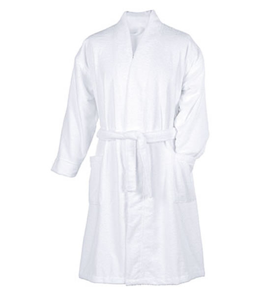 Szlafrok MB281 Microfibre Bathrobe - 281_white_MB - Kolor: White