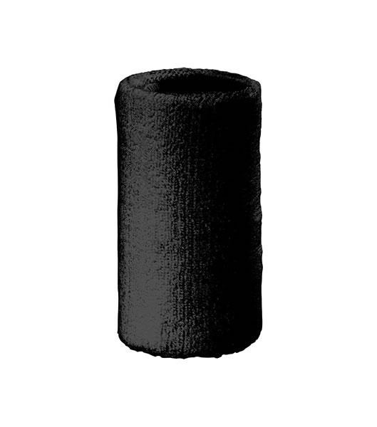 Frotka MB044 Sporty Wirstband - 044_black_MB - Kolor: Black
