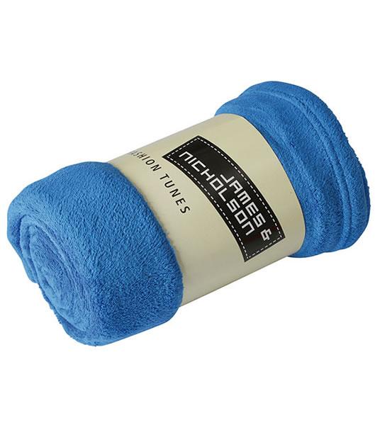 Koc JN951 Microfibre Fleece Blanket - 951_royal_JN - Kolor: Royal