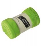 Koc JN951 Microfibre Fleece Blanket - 951_lime_green_JN Lime green
