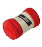 Koc JN951 Microfibre Fleece Blanket - 951_red_JN Red