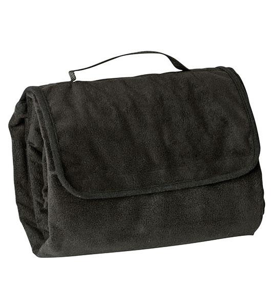 Koc JN953 Picnic Blanket - 953_black_JN - Kolor: Black