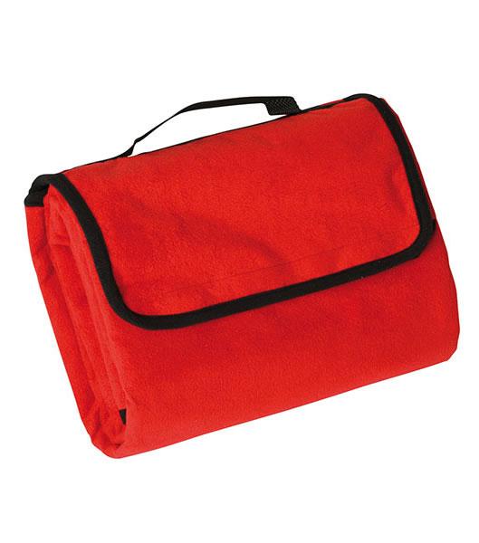 Koc JN953 Picnic Blanket - 953_red_JN - Kolor: Red