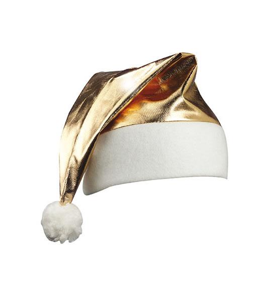 Czapka MB9503 Shinym Santa Hat - 9503_gold_MB - Kolor: Gold