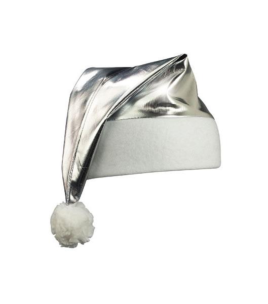 Czapka MB9503 Shinym Santa Hat - 9503_silver_MB - Kolor: Silver