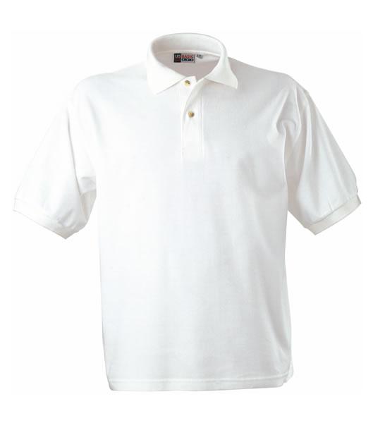 Koszulki Polo US 3177F95 Boston Polo Basic - 3177F95_bialy_US - Kolor: Biały