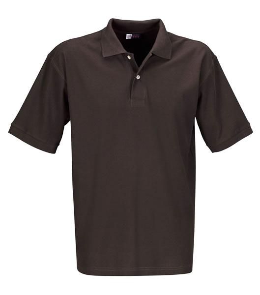 Koszulki Polo US 3177F95 Boston Polo Basic - 3177F95_brazowy_US - Kolor: Brązowy