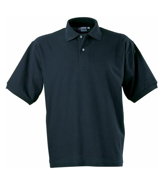 Koszulki Polo US 3177F95 Boston Polo Basic - 3177F95_granatowy_US - Kolor: Granatowy