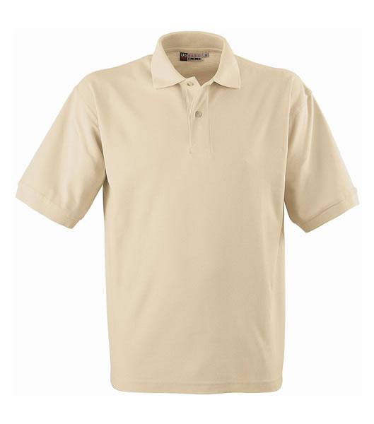 Koszulki Polo US 3177F95 Boston Polo Basic - 3177F95_khaki_US - Kolor: Khaki